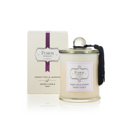 Fusion Candle Sweet Pea and Jasmin